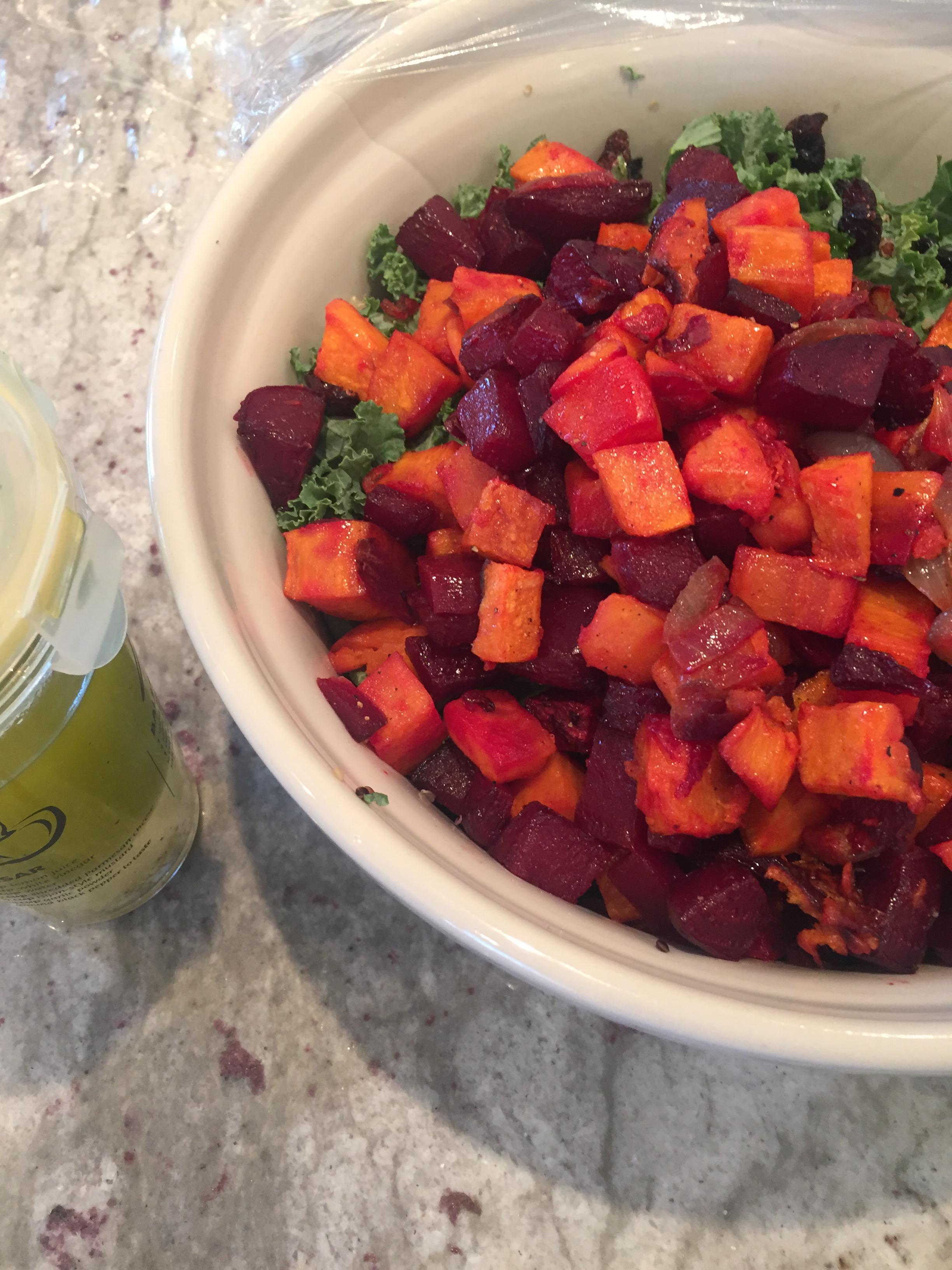 Kale salad dressing recipe