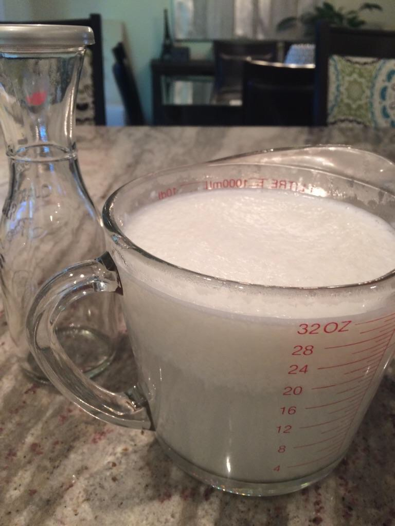 Homemade Coconut Milk Recipe